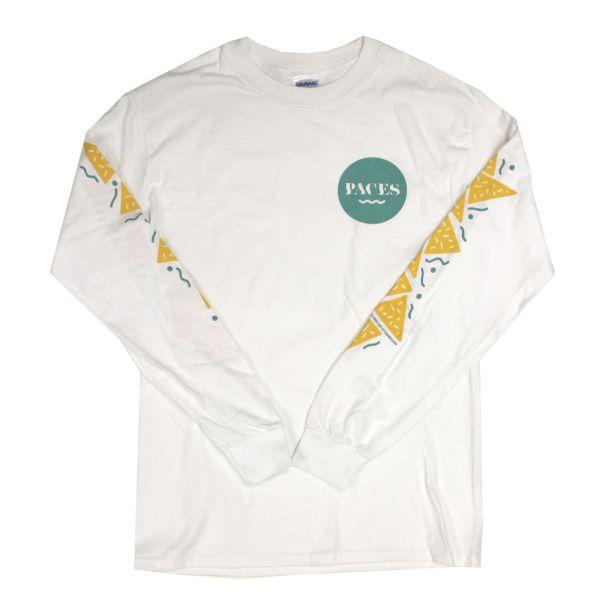 Dorite White Longsleeve Tshirt