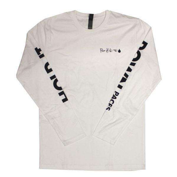 Hold It Down White Longsleeve Tshirt