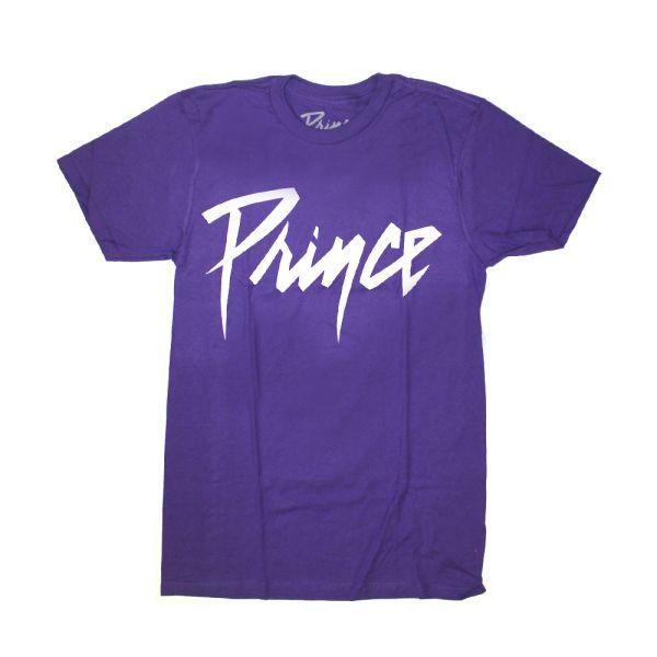 White Logo Purple Tshirt