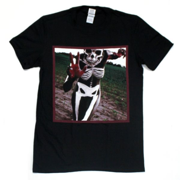 Skeleton Black Tshirt