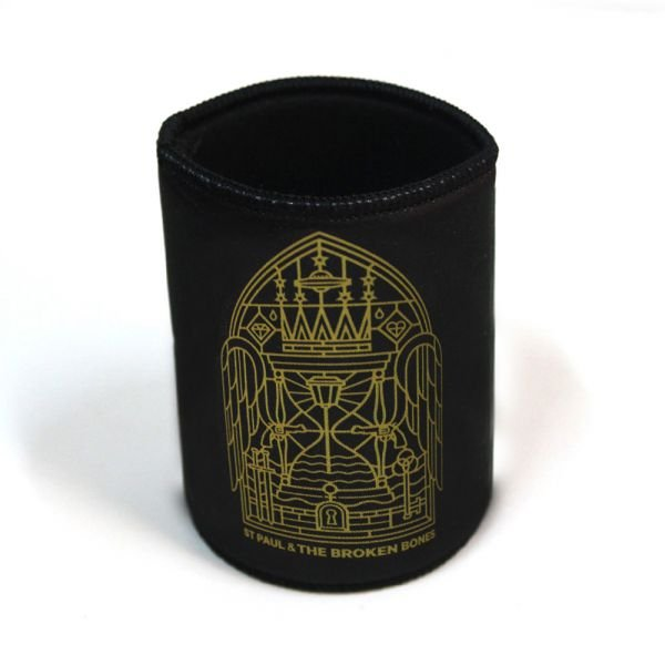 Stained Glass Black Stubby/Can Cooler