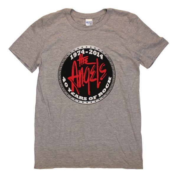 40th Anniversary Grey Tshirt w/dates