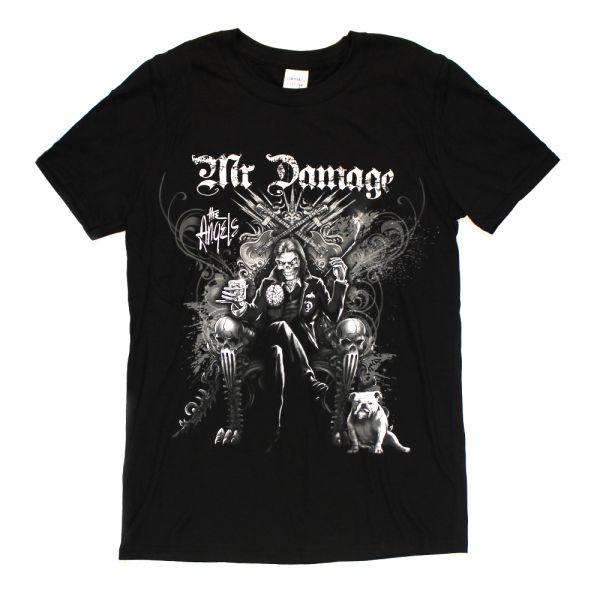 Mr Damage Black Tshirt