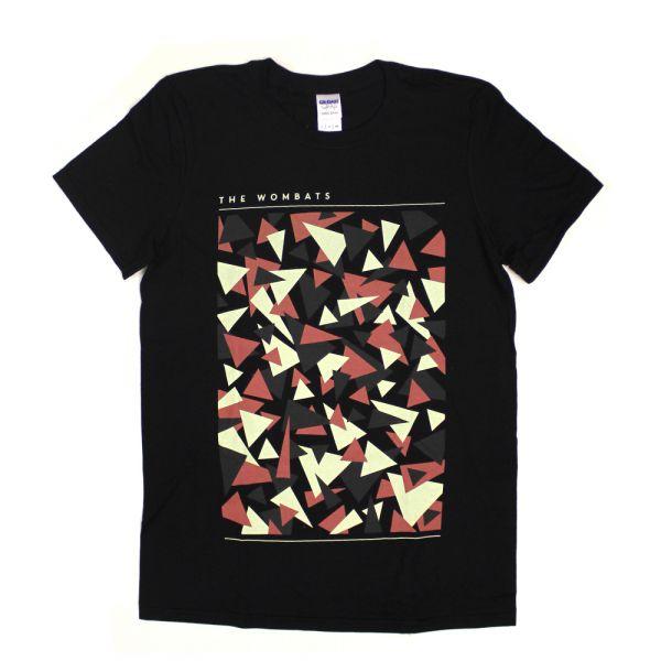 Triangles Black Tshirt