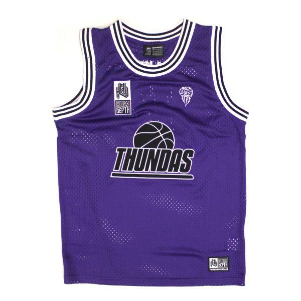 Purple Basketball Jersey